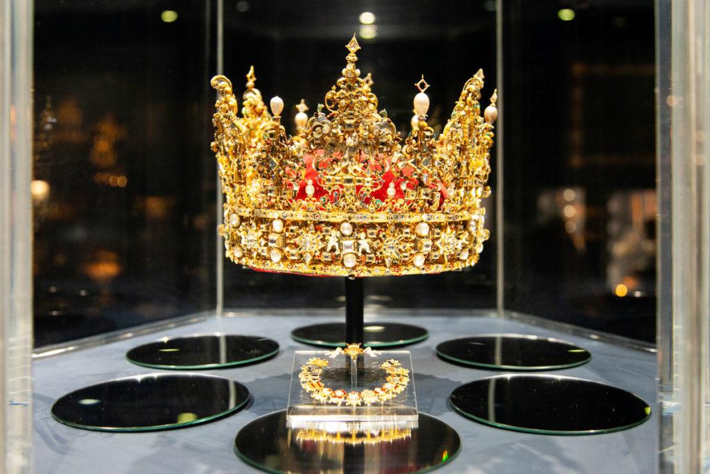 Corona di Cristiano IV - Sala del Tesoro Rosenborg Slot