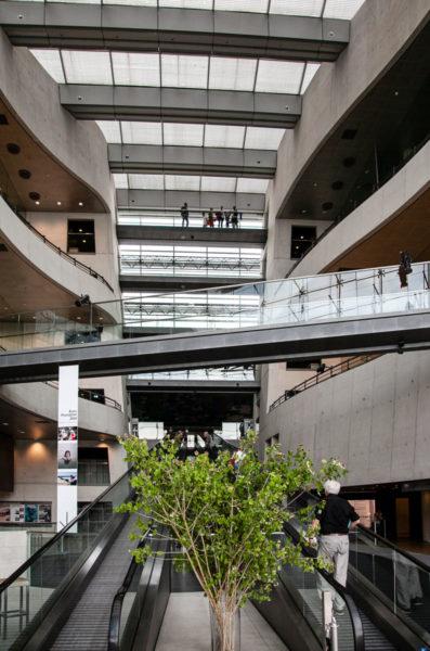Corridoi e Passerelle nella biblioteca di Copenaghen