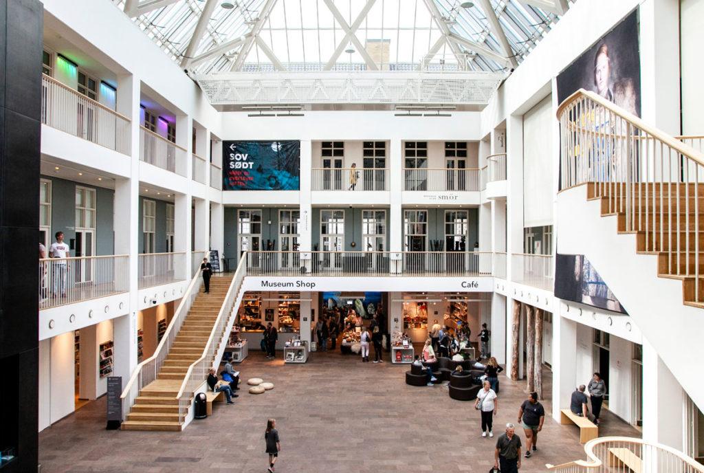 Cortile Interno Nationalmuseet Copenaghen