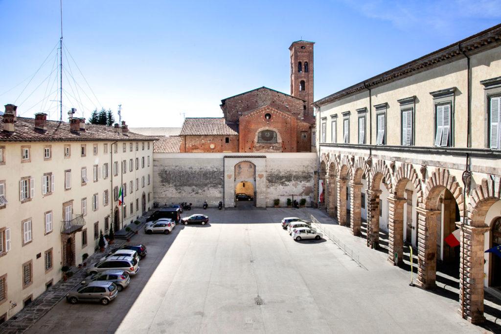 Cortile del Palazzo Ducale di Lucca