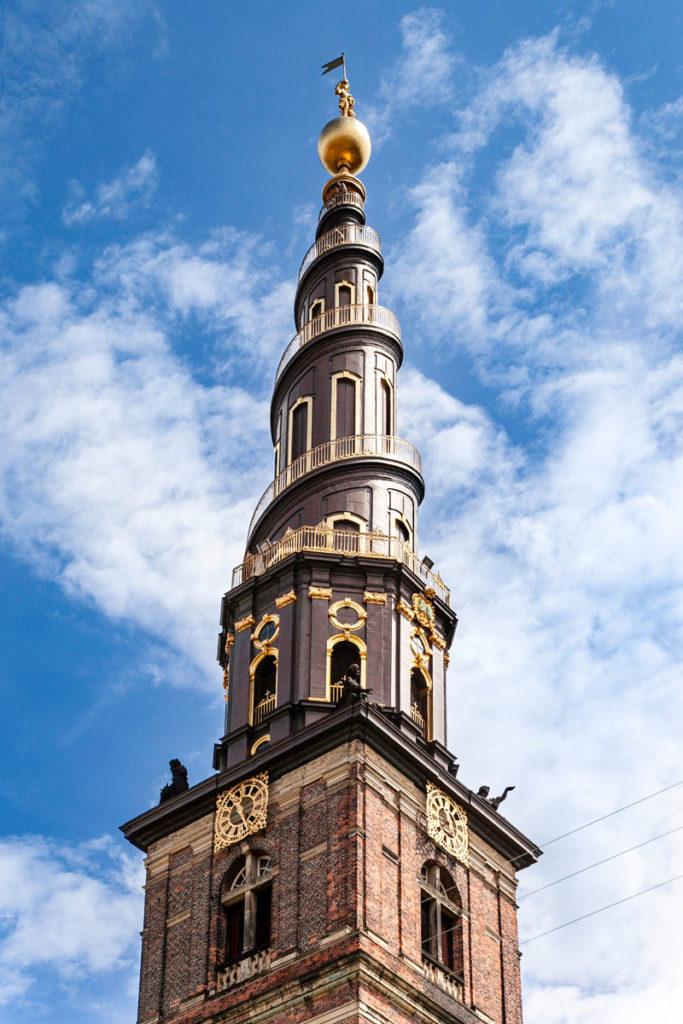 Cupola a Spirale Chiesa di Copenaghen - Vor Frelsers Kirke