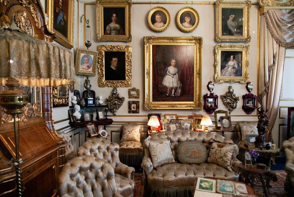 Dipinti e Divani a Amalienborg