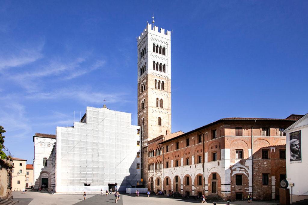 Facciata e Campanile duomo di Lucca