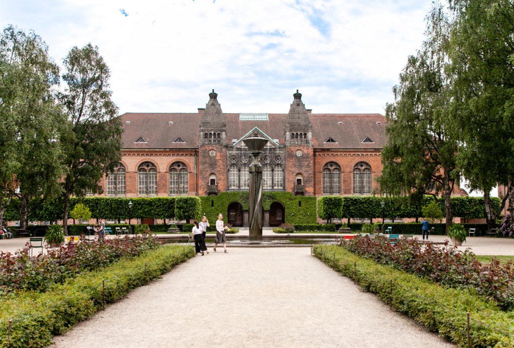 Giardini della biblioteca reale di Copenaghen