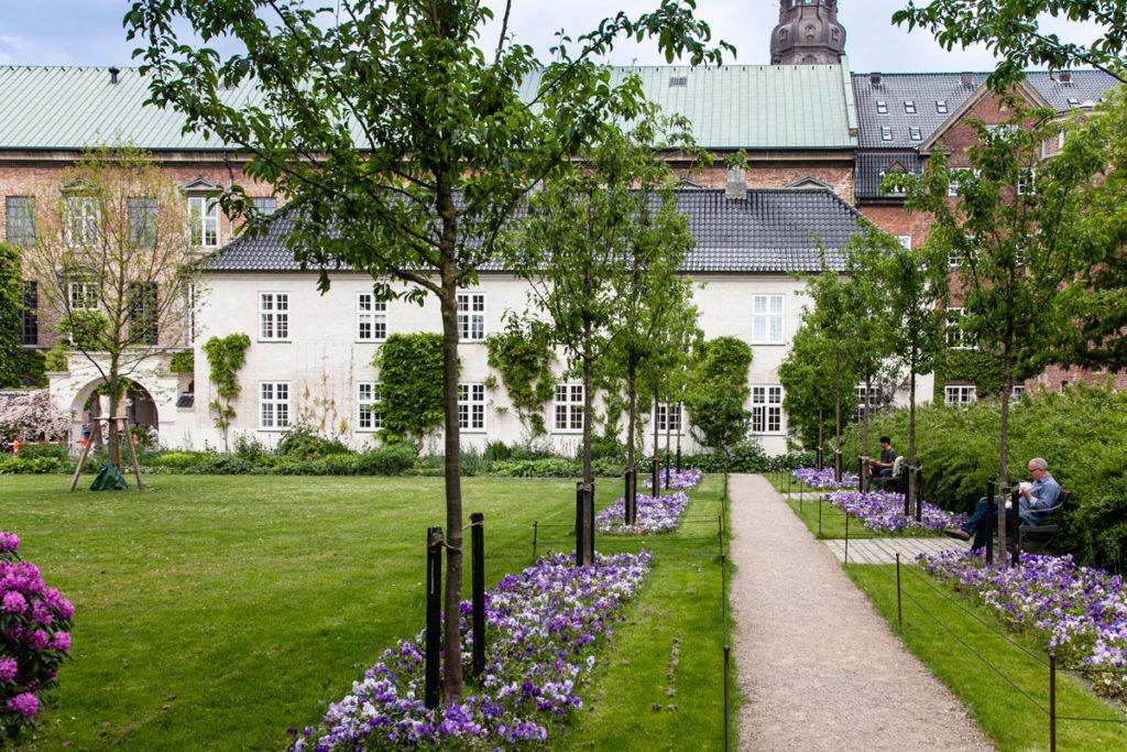 Giardini per leggere e rilassarsi - Biblioteca di Copenaghen