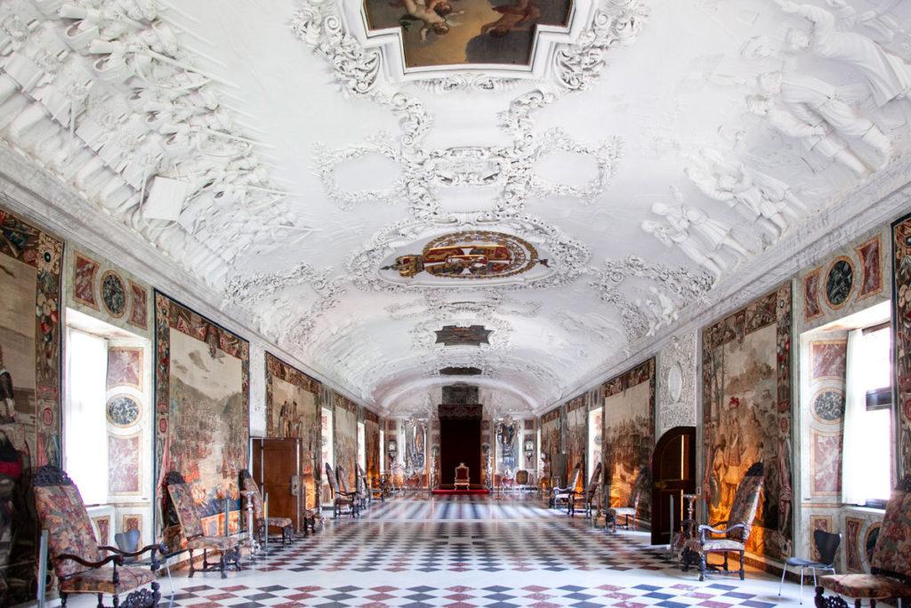 Grande Galleria di Rosenborg Slot - Castello di Copenaghen