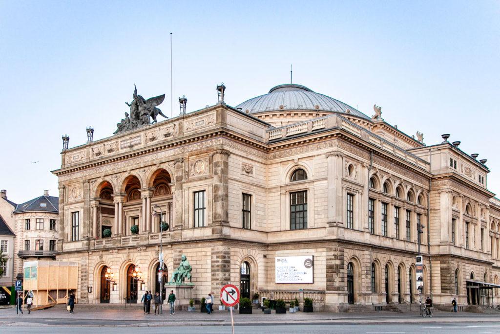 Il teatro reale danese in Kongens Nytorv