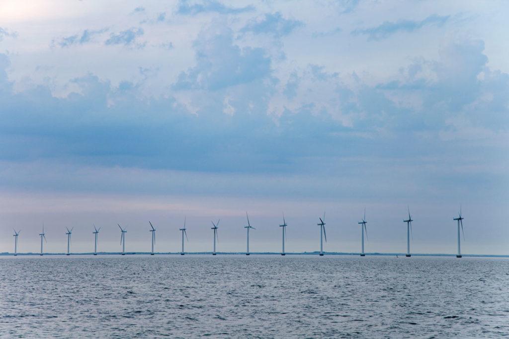 Impianto Eolico nel mare di Copenaghen - Amager StrandPark