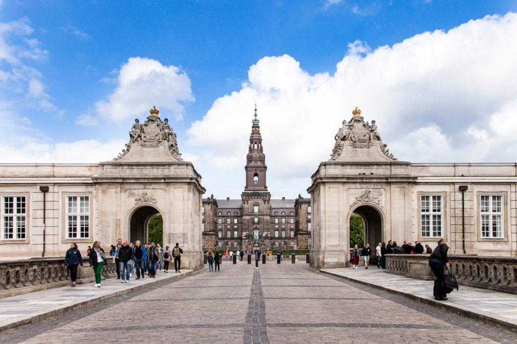 Ingresso a Christiansborg Slot