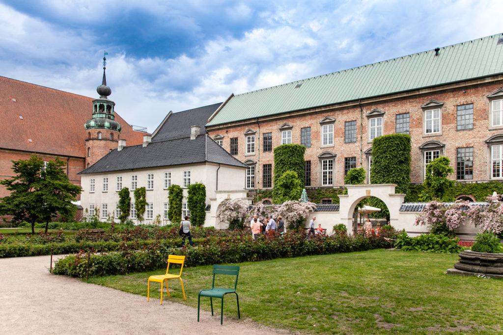 Ingresso ai Giardini della Biblioteca reale di Copenaghen