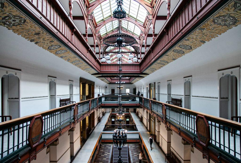 Interni del municipio di Copenaghen