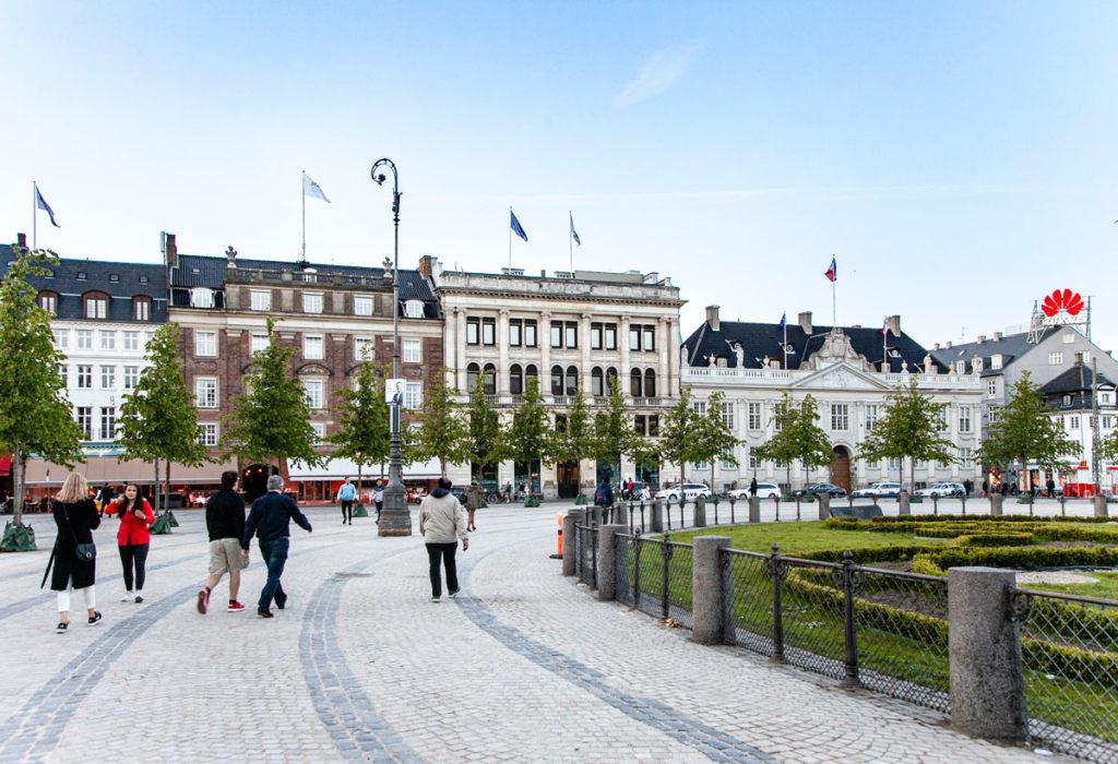 Kongens Nytorv - Piazza Reale di Copenaghen