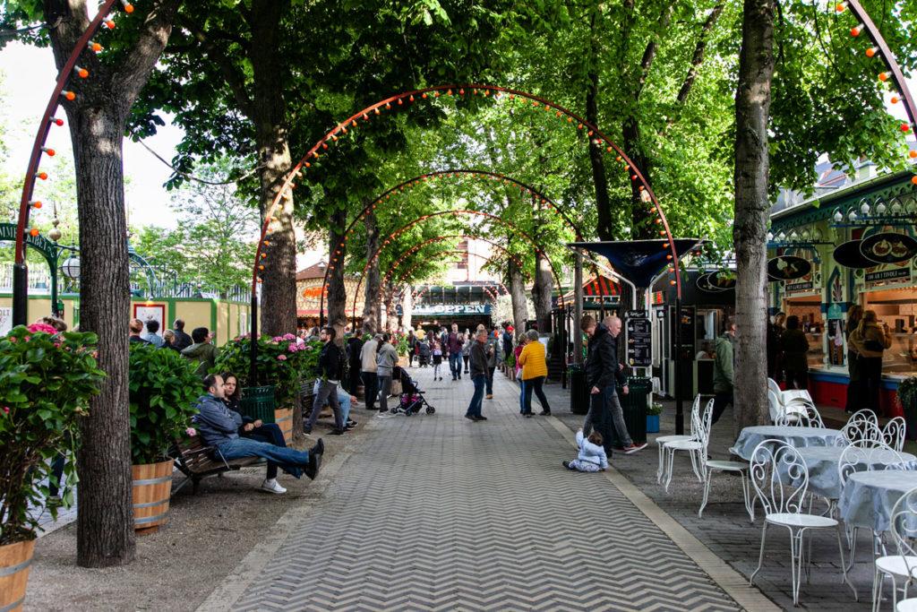 Luna Park dentro a Copenaghen