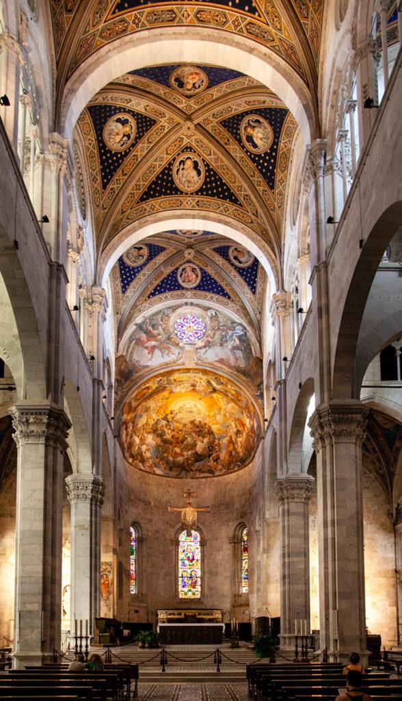 Navate Interne e Abside duomo di San Martino