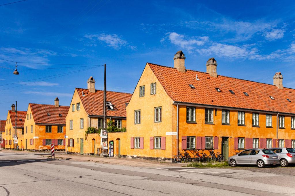 Nyboder - Case della Marina ed Esercito a Copenaghen
