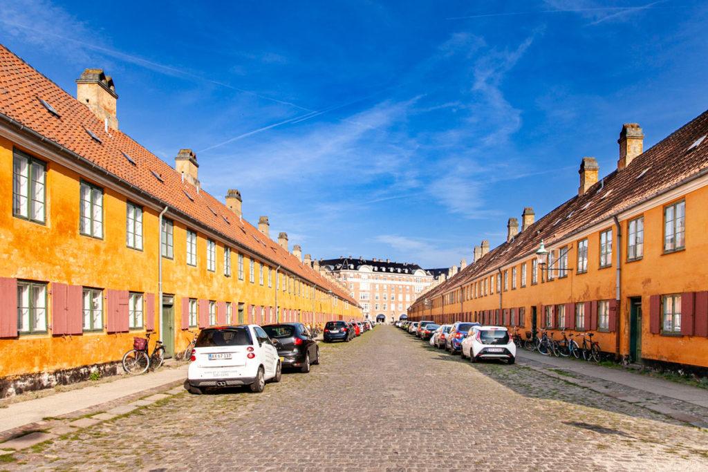 Nyboder - Quartiere Storico di Copenaghen - Film the Danish Girl