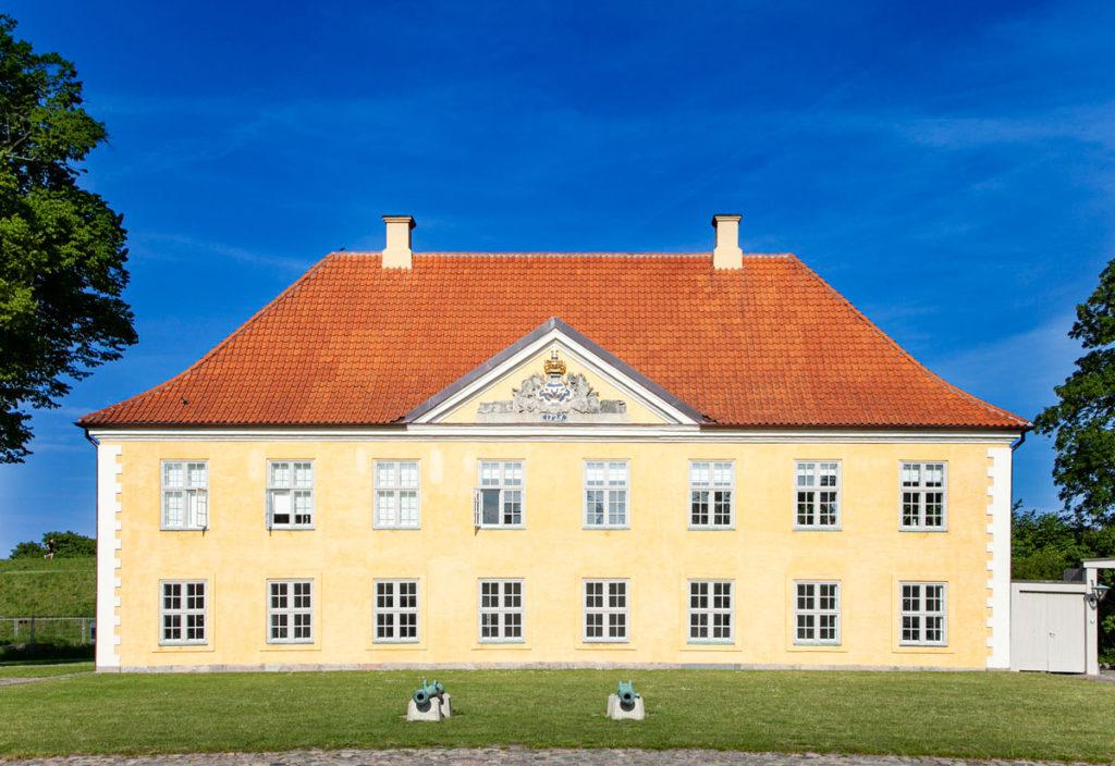 Palazzi della cittadella Fortificata di Copenaghen