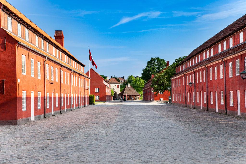Palazzi rossi di Kastellet - Isola Fortificata di Copenaghen