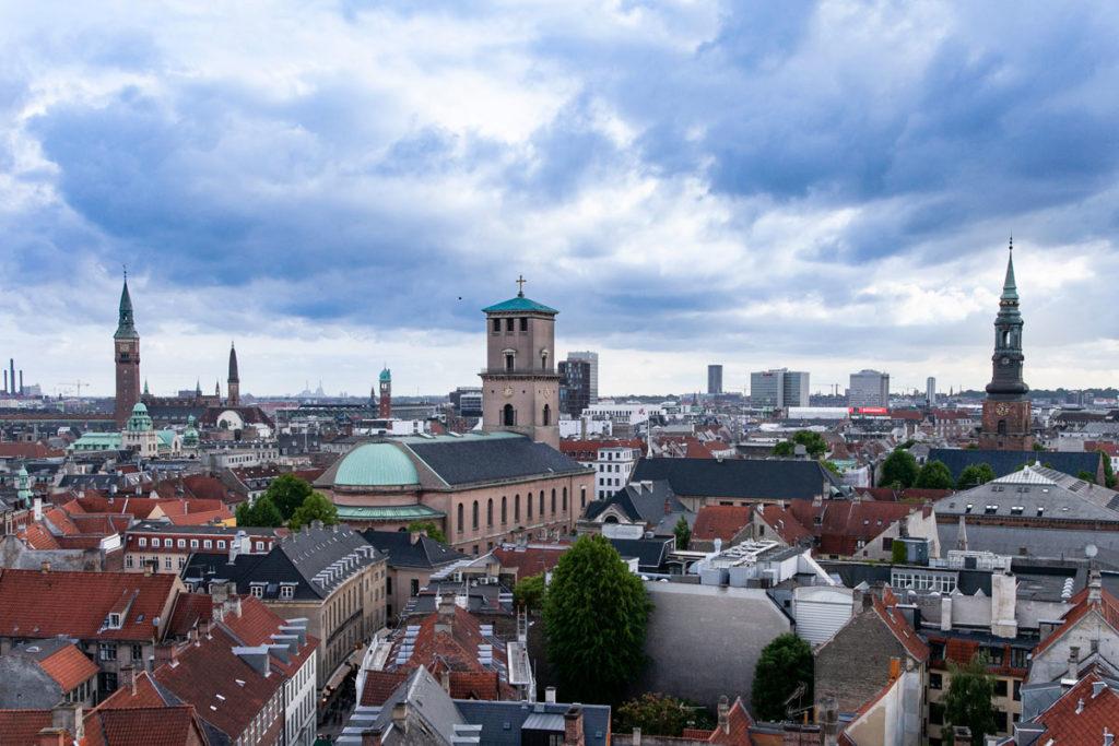 Panorama dalla Rundetardn di Copenaghen