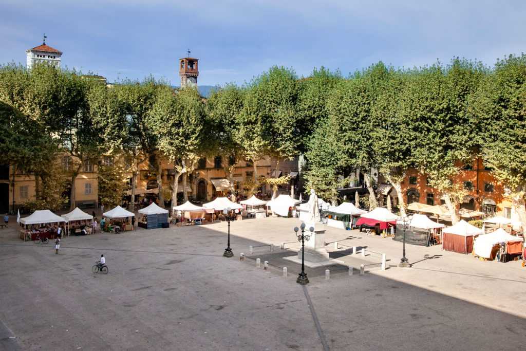 Piazza Napoleone di Lucca