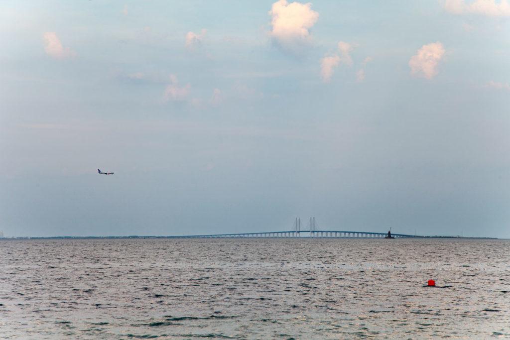 Ponte che unisce Copenaghen a Malmo