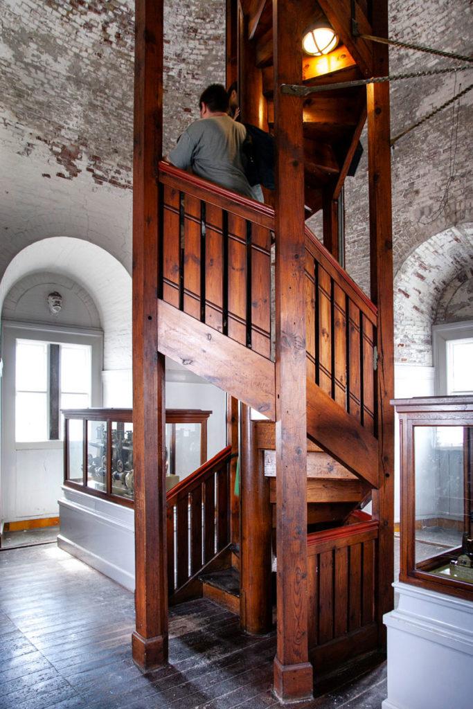 Salita con scalinata alla torre del Kobenhavns Radhus
