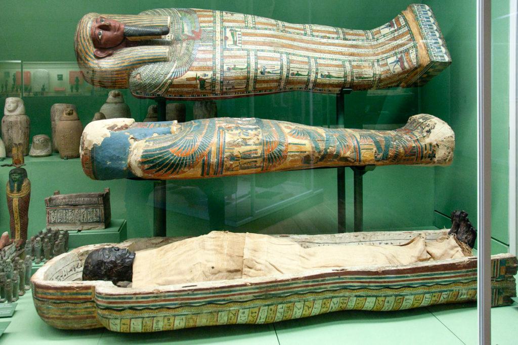 Sarcofaghi Egizi dentro al Nationalmuseet