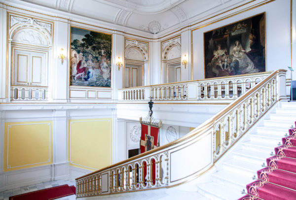 Scalone di Christiansborg Slot