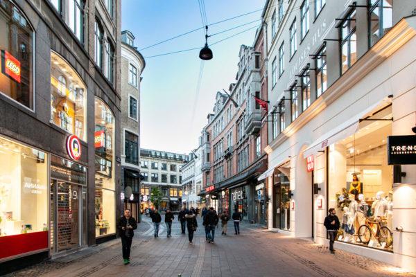 Stroget - Via dello Shopping di Copenaghen