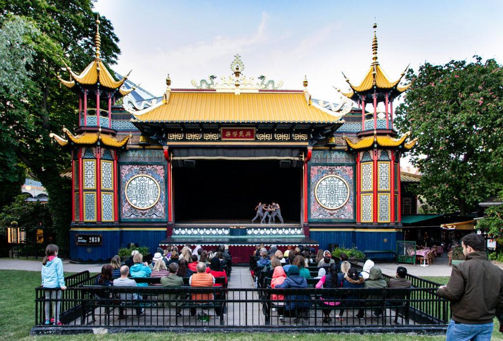 Teatro della Pantomima dentro a Tivoli - Copenaghen