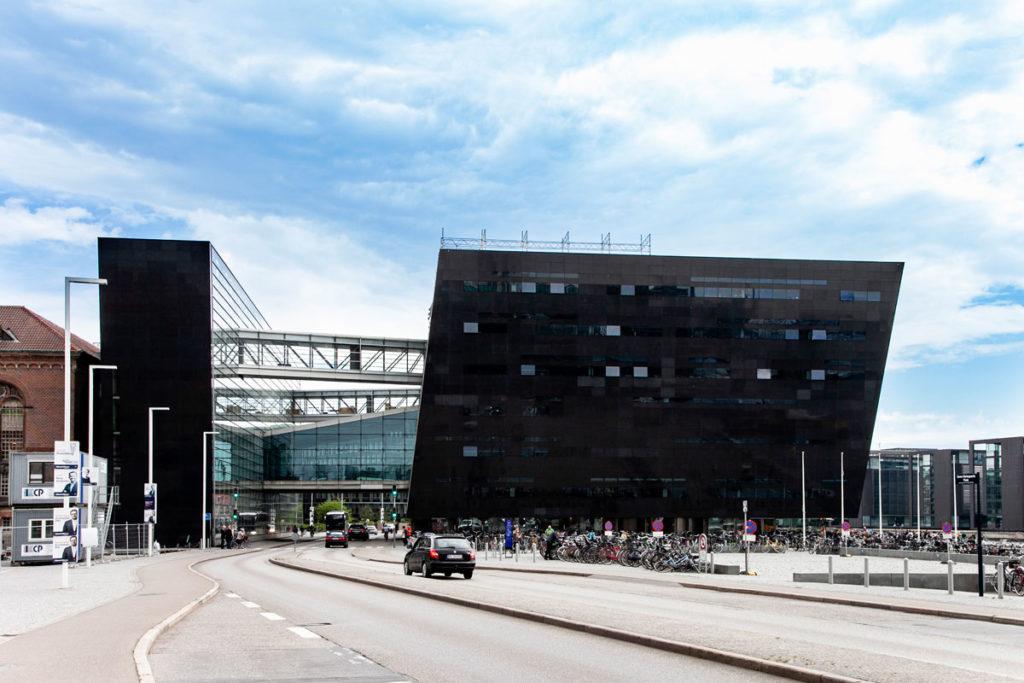 The Black Diamond - Parte Moderna della Biblioteca Reale di Copenaghen