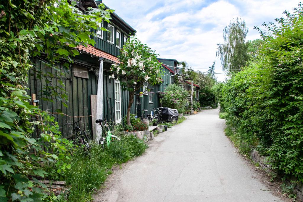 Verde a Christiania - Città libera di Copenaghen