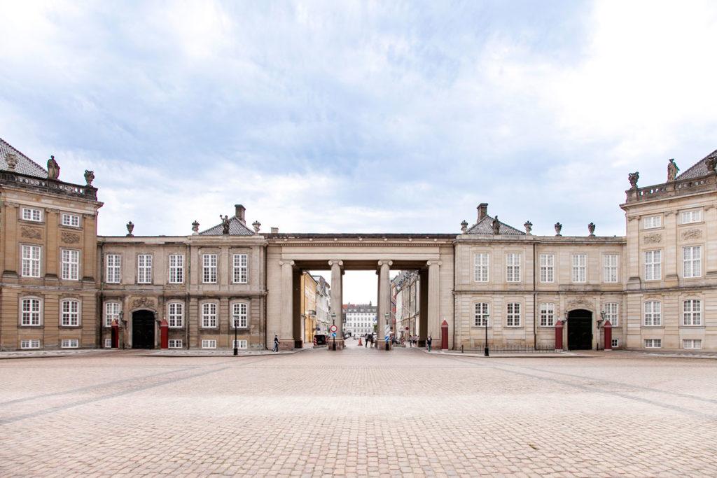 Visita a Amalienborg - Palazzo della Regina di Copenaghen