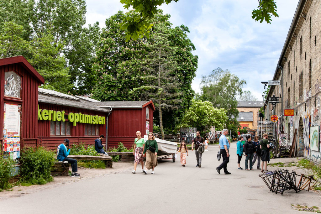 Visita a Christiania - Città libera di Copenaghen