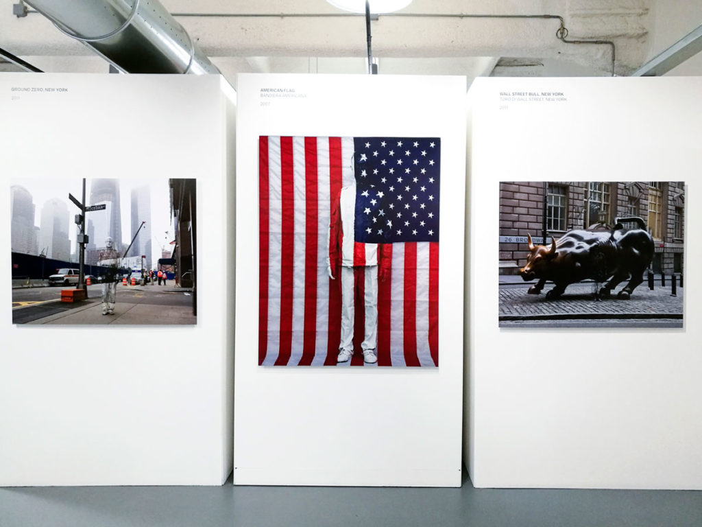 American Flag del 2007 e scatti di New York - Mostra Visible Invisible
