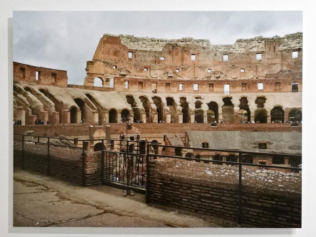 Colosseo Numero 1 - Liu Bolin 2017