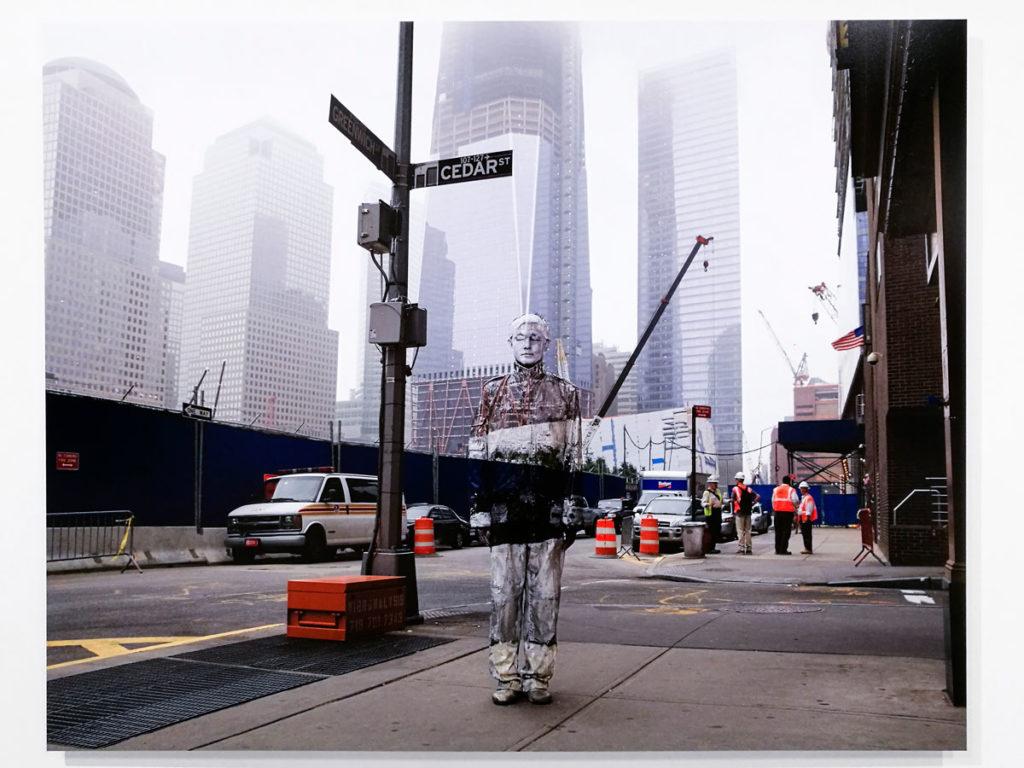 Ground Zero del 2011 - Liu Bolin e le sue fotografie per il mondo
