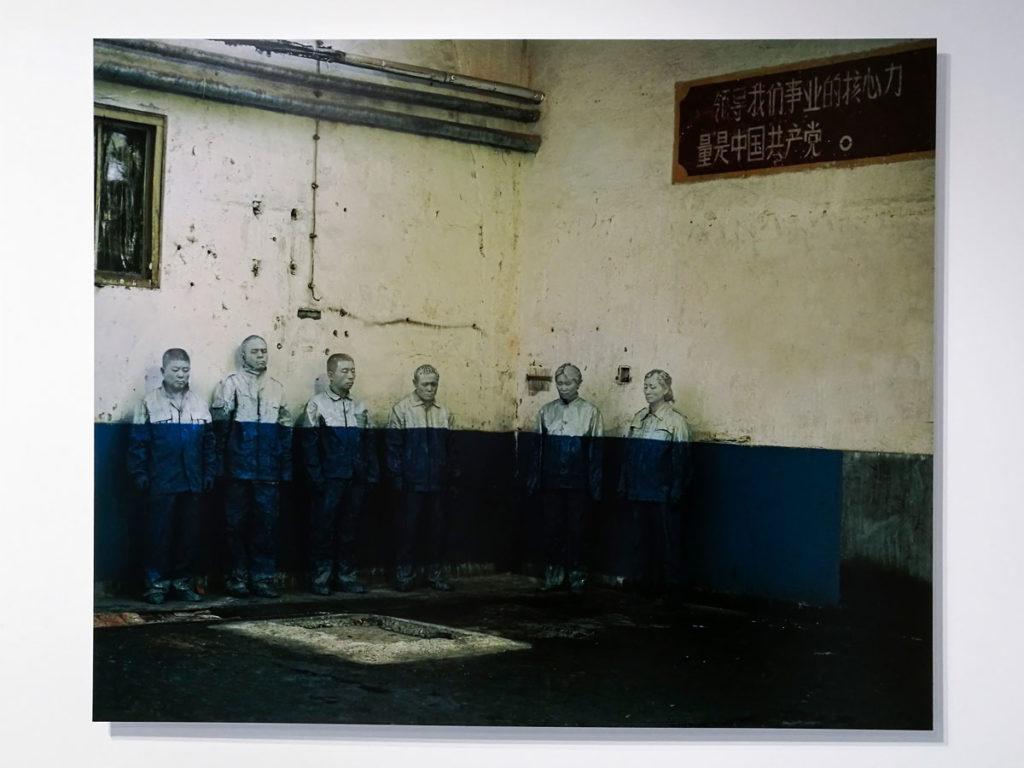 Operai Licenziati - Fotografia di LIU BOLIN del 2006
