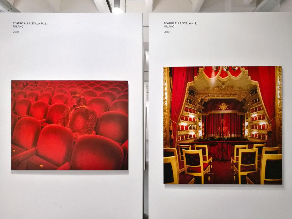 Teatro alla Scala numero 1 e 2 - Liu Bolin a Milano