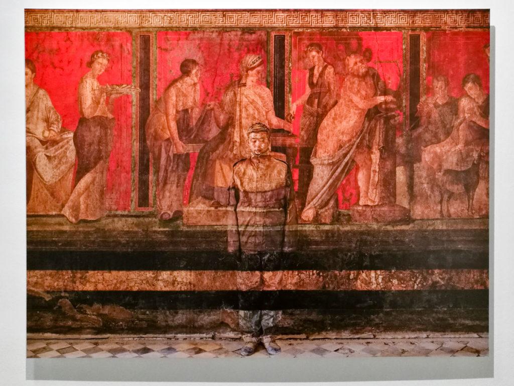 Villa dei Misteri di Pompei del 2012 - Liu Bolin in Italia