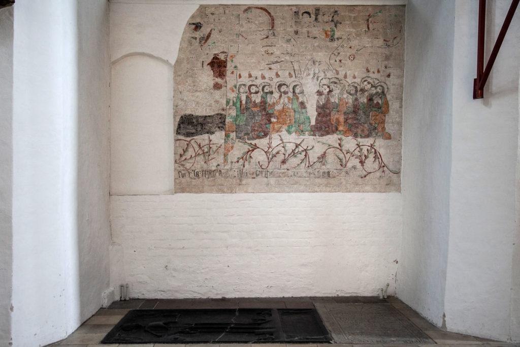Affreschi antichi nella Cattedrale di San Clemente