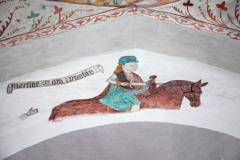 Affreschi di Elmelund nella Keldby Kirke