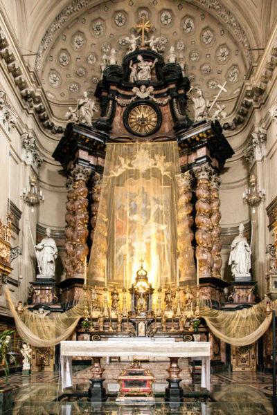 Altare Maggiore in stile Barocco - Chiesa di San Filippo Neri