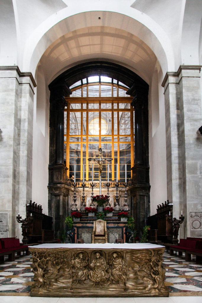 Altare del duomo di Torino