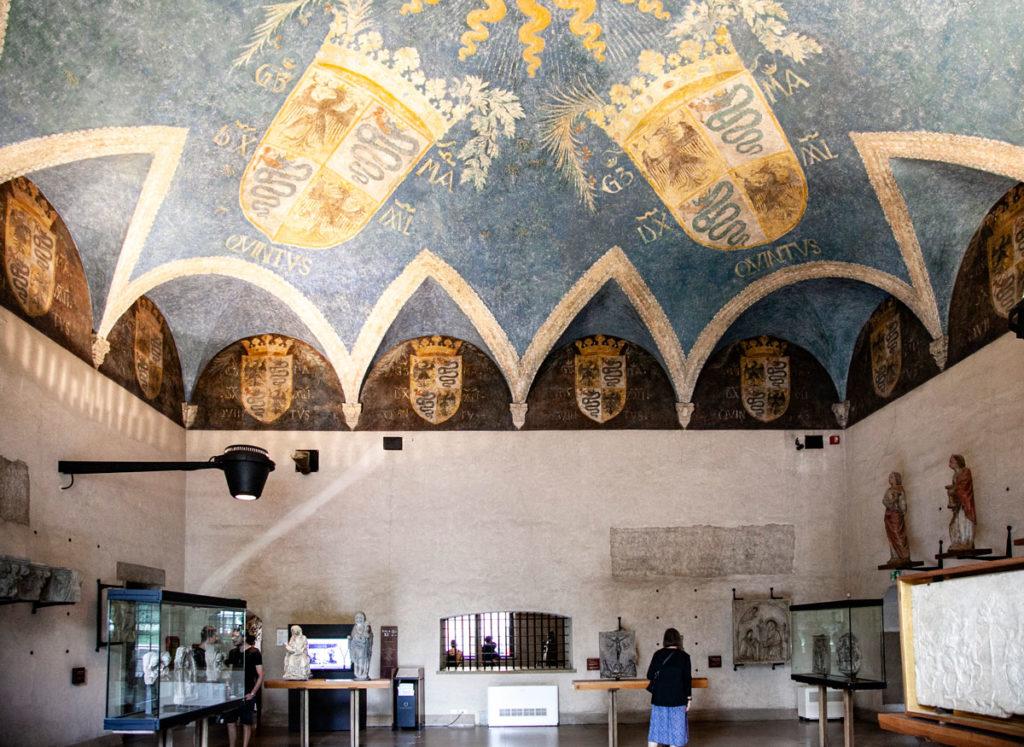 Appartamenti ducali - Biscione araldico famiglia Visconti - Sforza