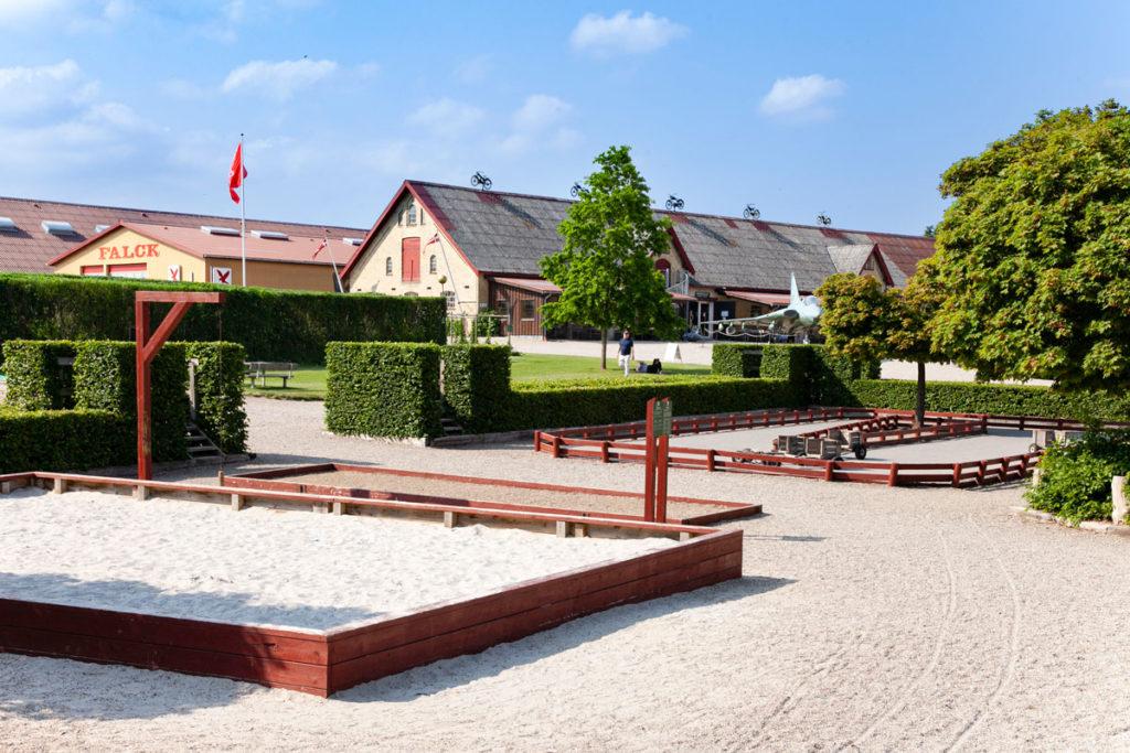 Area Giochi per Bambini - Parco del Castello di Egeskov