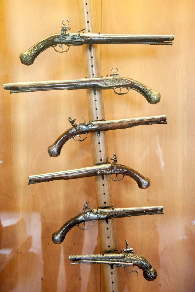 Armi da fuoco - Museo Arte Antica - Castello Sforzesco