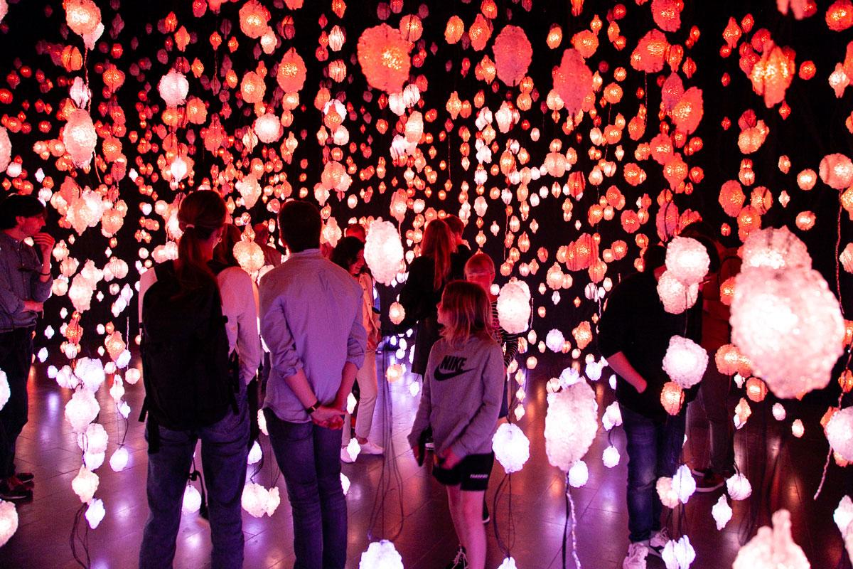 Arte contemporanea al Museo Louisiana - Pioggia di Luci