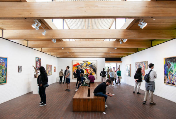 Asger Jorn Gallery - Dipinti - Museo Louisiana