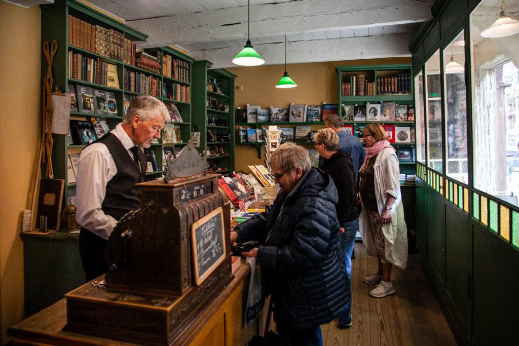 Botteghe storiche dentro al Den Gamle By - Libreria